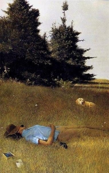 andrew wyeth грохот грома вдали1961